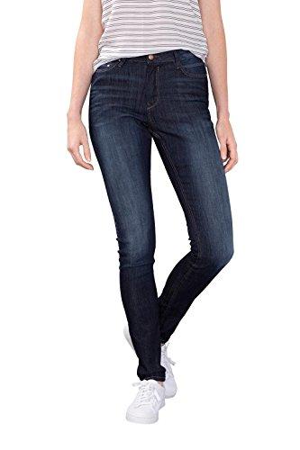 EDC by Esprit mit hohem Bund, Jeans Femme, Skinny (Blue Dark Wash - Blue Medium Wash - Black Rinse 910 - Grey Dark Wash 921) Marine