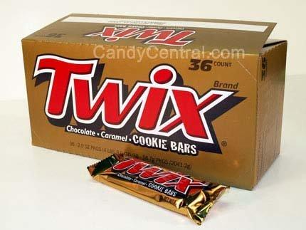 Twix Chocolate Caramel Cookie Bars (36 count)