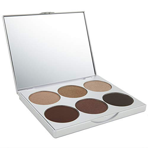 La Bella Donna | Clean Color Eyeshadow Palette, Formulated with Pure & Clean Ingredients - Natural Mineral Eye Makeup Kit with Mirror, No Parabens or Fragrance - Amalfi
