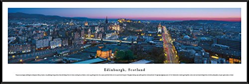 edinburgh-scotland-blakeway-panoramas-skyline-posters-with-standard-frame