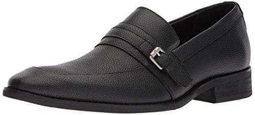 Leather Men's Black Tumbled Klein Reyes Calvin Loafer pq1I6n