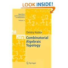 Combinatorial Algebraic Topology (Algorithms and Computation in Mathematics)