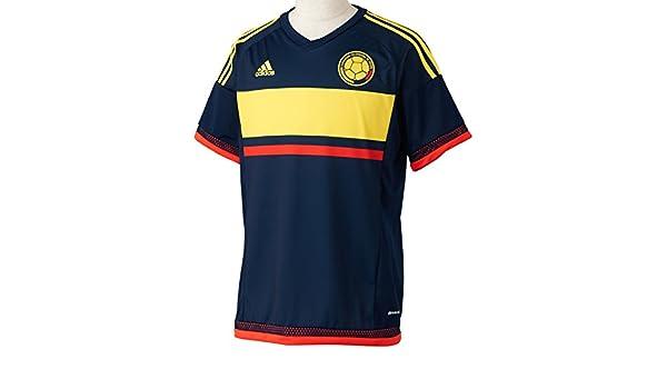 Adidas Selección de Colombia A JSY Camiseta, Hombre, Azul (Maruni/Amabri / Rojbri), L: Amazon.es: Deportes y aire libre
