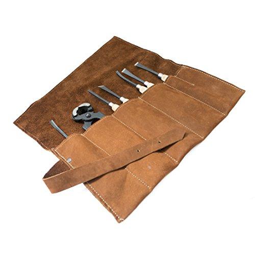 Large Tool Roll Handmade by Hide & Drink :: Swayze Suede