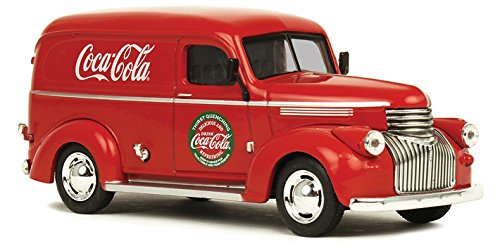 MOTOR CITY CLASSICS 1:43 COCA-COLA - 1945 FORD PANEL DELIVERY VAN DIECAST TOY CAR 443045
