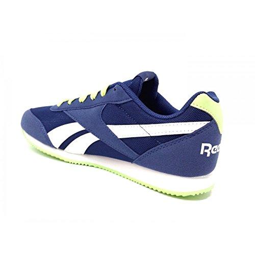 Reebok Royal Cljog 2, Zapatillas de Running para Niños Multicolor (Washed Bluewhiteli)