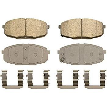 Disc Brake Pad Set-ThermoQuiet Disc Brake Pad Front Wagner QC913