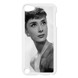 Wholesale Cheap Phone Case FOR IPod Touch 4th -Famous Singer Audrey Hepburn Pattern Design-LingYan Store Case 3