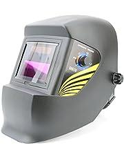 Spargo Auto Darkening Lassen Snijhelm Masker Ogen Bescherming Zonne-energie Gas Mig Boog Arc Lasser Zwart met Slijpen Functie Verschillende Ontwerpen