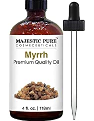 Majestic Pure Myrrh Oil, Premium Quality, 4 fl Oz