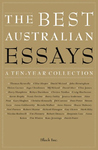 Book cover from The Best Australian Essays: A Ten-Year Collectionby Black Inc.