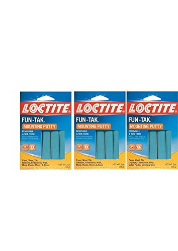 Henkel #1087306 2OZ Mount Putty (Pack of 3) (Four Poster Shopper)
