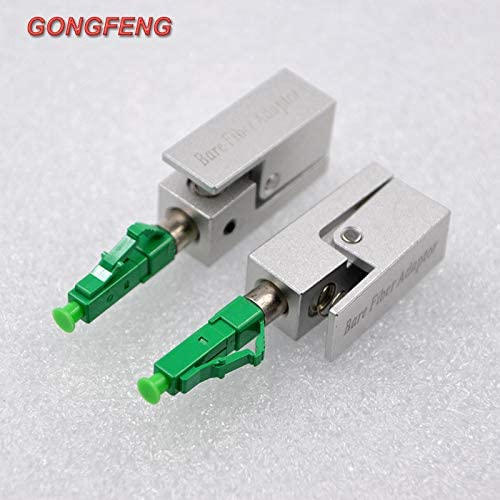 10Pcs Fiber Optical Connector Lc//Upc//Apc Square Flange Adapter Coupler Connector Module Color:Green Lc Apc 10Pcs; Connector Type:Optical Connector; Insert Type:Male Insert Stock-Home