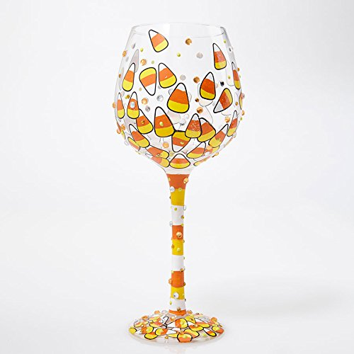 Enesco Lolita Glass Bling Wine_Glass