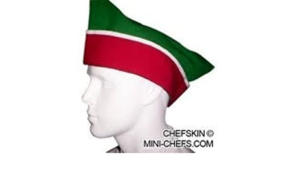 CHEFSKIN ZANDANA CHEF HAT ITALIAN PIZZA ITALY FITS ALL SOFT TWILL 65//35 FABRIC by CHEFSKIN