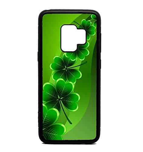 Phone Case Clover Shamrock Print Pattern for Galaxy S9 (Shamrock Phone Case)