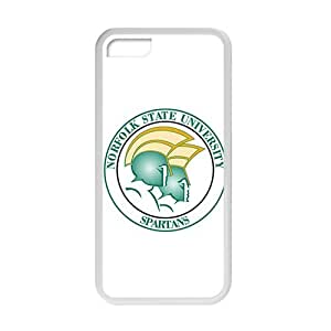NCAA Norfolk State Spartans White For SamSung Galaxy S3 Phone Case Cover