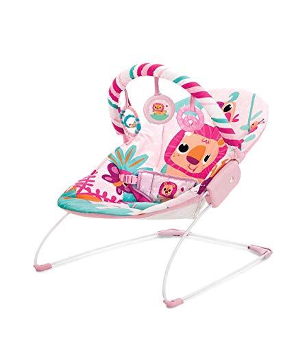 Cadeira De Descanso Musical E Vibratória Selva, Mastela, Rosa, Médio