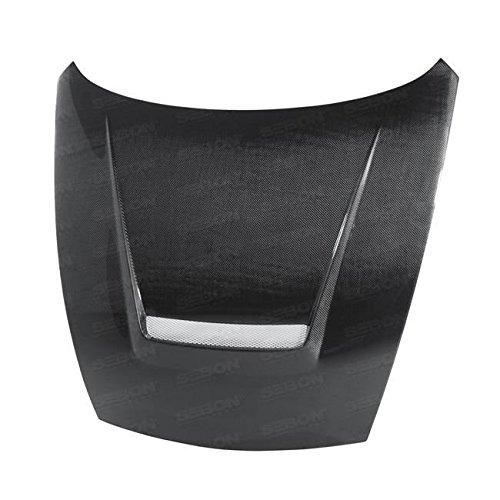 (Seibon HD0910NS370-VSII Carbon Fiber Hood VSII Style)