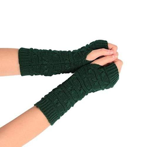Women Knit Mitten Practical Casual