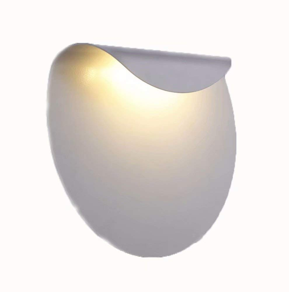 モダン ミニマリスト LED 壁ランプ 個性 ミニマリストクリエイティブ 寝室 ベッドサイド 廊下 照明 W30*D7*H21.5 4333652520418 B07H9QH5MK White Light 6000k