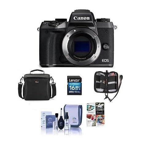 Amazon com : Canon EOS M5 Mirrorless Digital Camera Body
