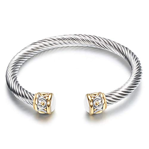 Twisted Cable Bangle - 1