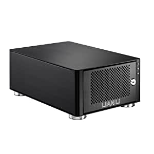 Lian Li EX-20N lente para cámara fotográfica, adaptador - Unidad RAID (4 TB, SATA, Serial ATA II, 0, 1, JBOD, 0.3 GHz, 0.125 GB, DDR) Negro