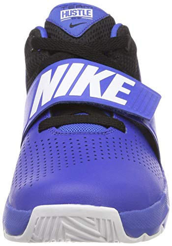 white Nike Game Hustle Basketballschuhe Jungen 405 Royal GS Mehrfarbig 8 Game D black Team Royal aa1xfOT