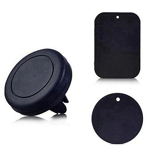 Scrox 1x Universal Soporte Móvil Coche de Teléfono Móvil de Salida de Aire Magnético 360 Grados de Rotación para Automóvil Apoyo Accesorios para Teléfonos ...