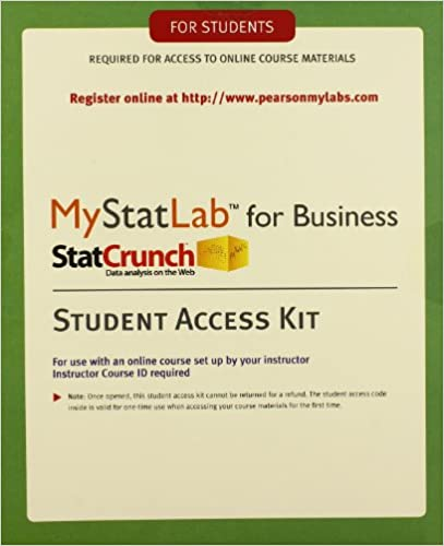 Amazon mylab statistics with etext for business statistics mylab statistics with etext for business statistics standalone access card 1st edition fandeluxe Image collections