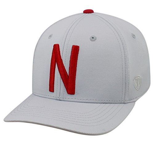 Top of the World Nebraska Cornhuskers Official NCAA One Fit Impact Hat 057866