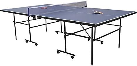 XTURNOS Mesa De Ping Pong 152.5x274x76 cm.: Amazon.es: Juguetes y juegos