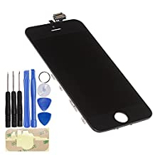 OEM Original LCD Digitizer + Touch Screen + LCD Panel Assembly for iPhone 5-Color Black