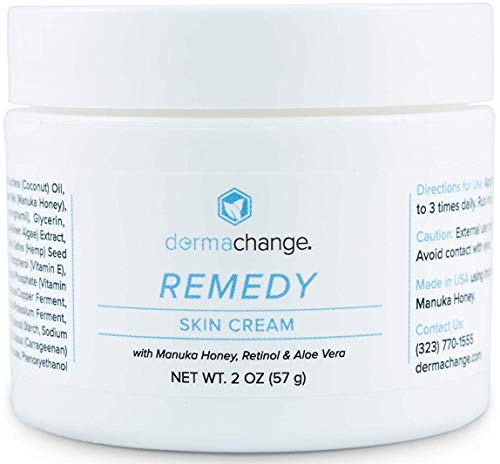 Organic Tightening and Moisturizing Retinol Skin Cream - For Face Eye and Body - Anti Aging - Night And Day Cream For Men and Women - Eczema Treatment - Great for Rashes Fine Lines (2oz) - Made by USA (Best Natural Remedy For Eczema)