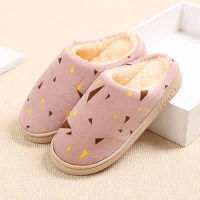 Cotone fankou mop è la casa della principessa cadere durante la primavera e autunno e inverno spesse pantofole di cotone insieme uomini e donne paio di pantofole di cotone ,38-39, polvere di sogno