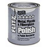 Flitz CA 03518-6 Metal Polish Fiberglass And Paint Restorer