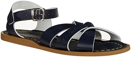 Salt Water Sandals by Hoy Shoe Original Sandal (Toddler/Little Kid/Big Kid/Women's), Navy, 8 M US Big Kid/10 B(M) US Women by Salt Water Sandals