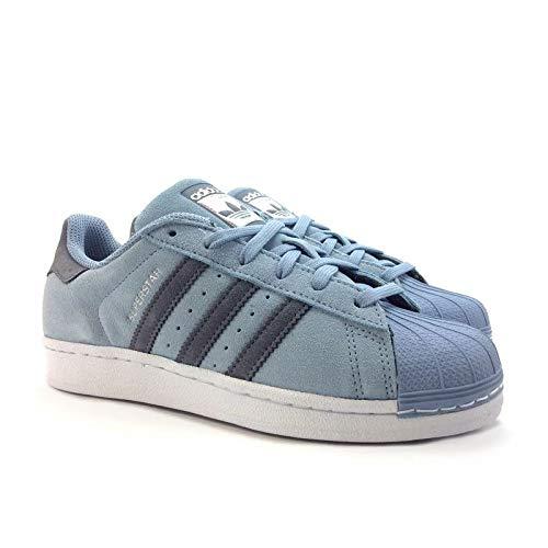 la moitié 2050c fa7e6 adidas Men's Superstar Indoor Multisport Court Shoes Blue ...