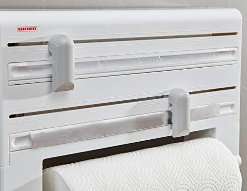 اسعار Leifheit 25703 Roll Holder, Parat White/Grey