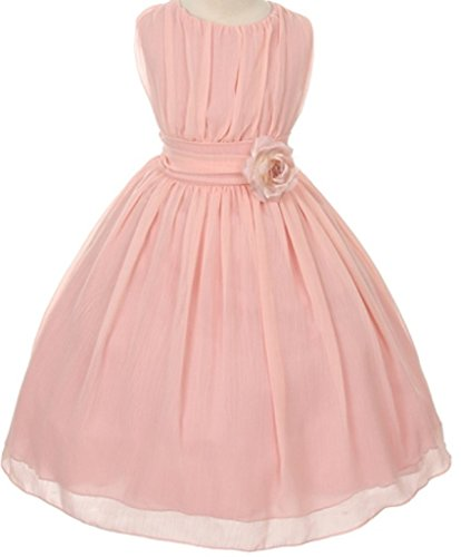 Little-Girls-Classic-Yoro-Wrinkled-Chiffon-Special-Flowers-Girls-Dresses