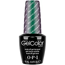 OPI Gel Nail Color, Peace and Love, 0.5 Ounce