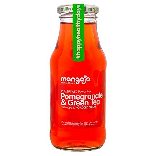 Mangajo Pomegranate & Green Tea - 250ml (8.45fl oz) by Mangajo