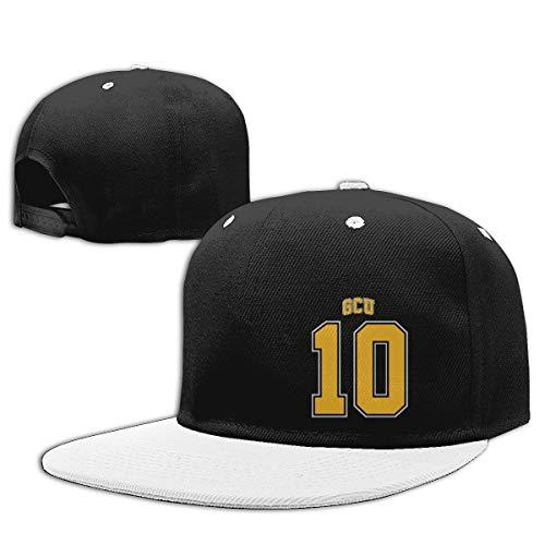 (LJQ-shop Gotham City University Football Jersey Contrast Hip Hop Baseball Cap)