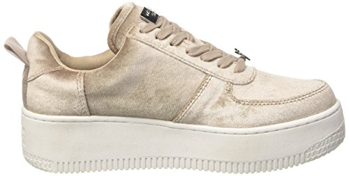 Racerr Alto Beige Windsor Donna Sneaker Taupe Collo Velvet Smith a Rwq7v