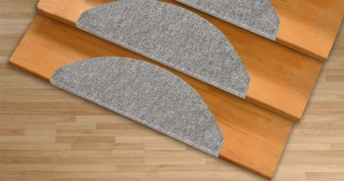 21x64cm anthrazit Floordirekt Stufenmatten Paris