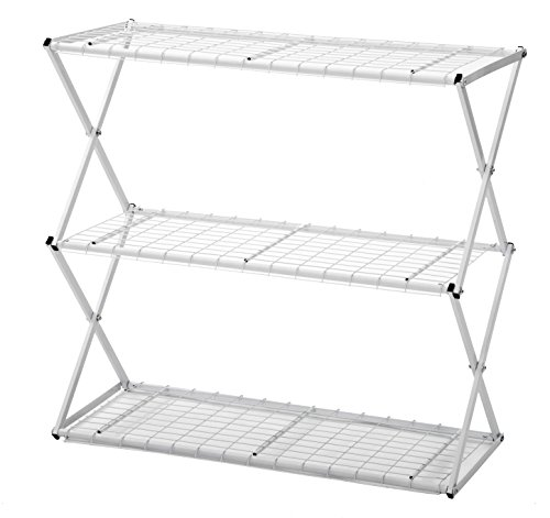 Flower House Exy EXY30W 3-Tier Shelf System, White by Flower House