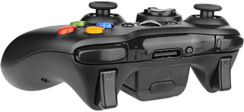 Bek Design Wireless Controller Game Pad Black for Xbox 360