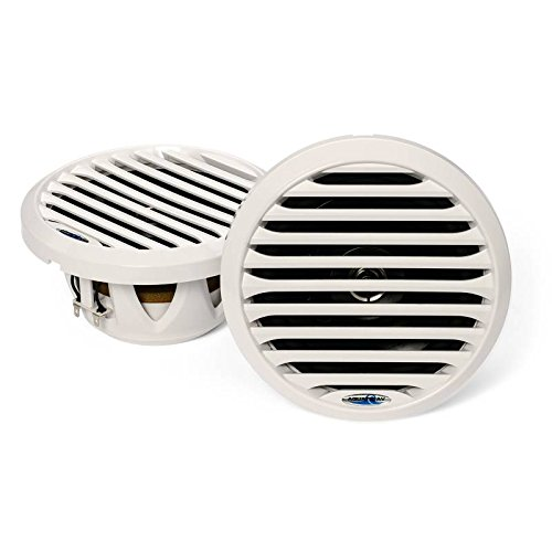 Aquatic AV PR 6.5'' Pro-Series White Marine Speaker 100W MAX, 50W RMS AQ-SPK6.5-4LW by Aquatic AV (Image #3)