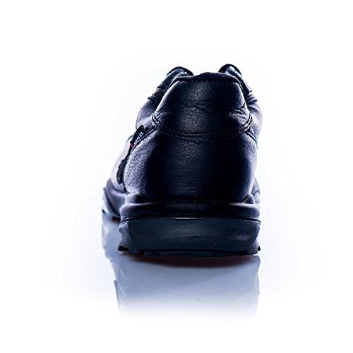 Heckel Zapatos bajos de seguridad RUN-R Edición ACE S1P libre de metal, extremadamente ligera, diferentes tallas negro